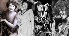Wow - look at this slideshow for some great female musicians. Awesome. Delta Derbyshire, Shirley Collins, Patty Waters, Yoko Ono, Nico, Catherine Ribeiro, Brigitte Fontaine, Billie Holiday, Ella Fitzgerald, Joni Mitchell, Aretha Franklin, Joan Jett, Poly Styrene, Carole King, Sinead O'Connor, Madonna, Bjork, Kathleen Hanna, Whitney Houston, Alicia Keys, Esperenza Spalding. If you have any other suggestions send them to MAKERS. See the link on our page - WOMB.