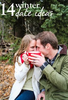 14 Outdoor Winter Date Ideas  // to keep the spark when the weather is cold
