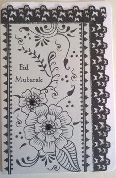 EID-Mubarak-hand-made-card-with-envelope-size-7-x-5