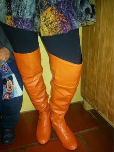 over the knee boots  FEMINA - Modéstia e elegância (por Aline Rocha Taddei Brodbeck): Grávida com over the knee de montaria!