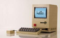 LEGO Macintosh model...