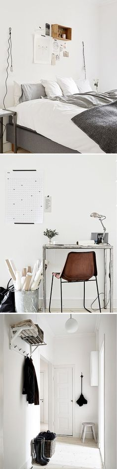 + #living #bedroom #workspace #nordic #design