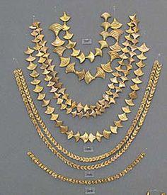 Gold Myenaean Necklaces