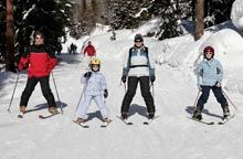 Helpful booking advice for ski equipment and lessons
