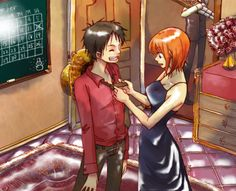 One Piece - Monkey D. Luffy x Nami