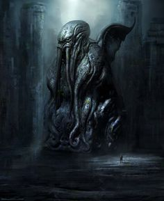 Cthulhu statue DVG by ~cloudminedesign on deviantART
