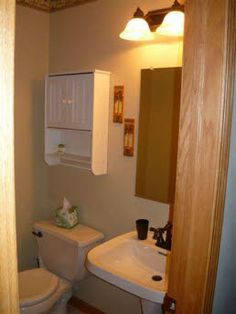 1/2 Bath on Main Floor
