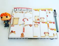 32 Fabulous October Bullet Journal Themes {Halloween, Fall and Pumpkins Galore!} - - 32 Fabulous October Bullet Journal Themes {Halloween, Fall and Pumpkins Galore! Bullet Journal Tracking, May Bullet Journal, Bullet Journal Cover Page, Bullet Journal Themes, Bullet Journal Layout, Journal Covers, Bullet Journal Halloween, Theme Harry Potter, Lettering