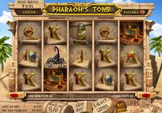 The Pharaoh's Tomb 3D slot at Castle Casino will take you all the way back to the Egyptian times. Once playing you'll be invited into a pyramid where you'll have to work the combination and either die or prosper immensely. This 5 reel and 20 payline slot has great graphics and an abundance of bonus rounds to keep you entertained for hours on end.    Enjoy the Pharaoh's Tomb slot by registering with Castle Casino today.