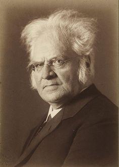 Bjørnstjerne Bjørnson (1832-1910) - Norwegian writer and Nobel Prize Literature winner 1903. Photo Erwin Raupp, 1909