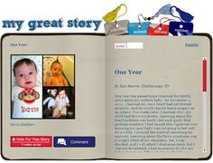 Check out the November 2012 My Great Story of the Month Contest winner One Year, by Kari Reeves, Chattanooga, TN. Share your story at ndss.org/stories!