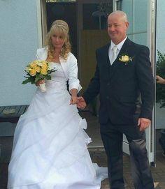 ♥ Hochzeitsfoto einer Schmetterling Braut. Vielen Dank und alles Gute zur Hochzeit! ♥