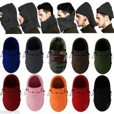 Men Women Fashion Winter Hat Warm Head Hat Ear Cap Fleece Face Masks Protector