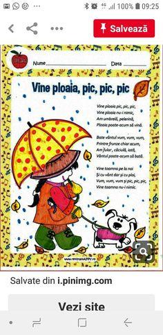 Preschool Worksheets, Kindergarten Activities, Infant Activities, Activities For Kids, Preschool Decor, Songs For Toddlers, Kids Poems, School Games, Autumn Activities