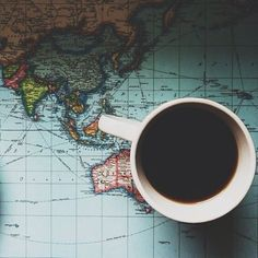 maps and coffee and travel. These are a few of my favorite things.