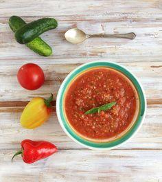 vychladené gazpacho