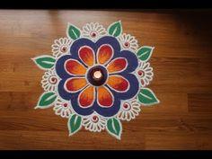 Rangoli Designs with Colours by Shital Daga, Easy and Simple Rangoli Designs,Diwali rangoli designs Easy Rangoli Designs Diwali, Rangoli Simple, Rangoli Designs Latest, Simple Rangoli Designs Images, Rangoli Designs Flower, Free Hand Rangoli Design, Rangoli Border Designs, Small Rangoli Design, Rangoli Patterns