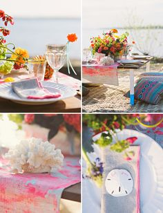 sea life table decor