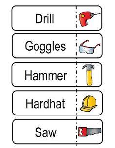 Preschool Printables: Building