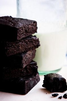 dark chocolate brownies more brownies bars brownies blondies dark ...
