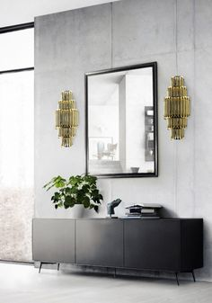 Wall Lamp in aluminum with stilnovo look Matheny from Delightfull