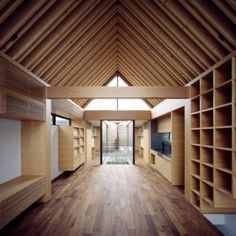Ark-inspired house by Apollo Architects features a symmetrical layout