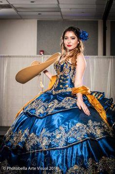 Mariachi Quinceanera Dress, Champagne Quinceanera Dresses, Mexican Quinceanera Dresses, Mexican Dresses, Quinceanera Themes, Quince Dresses, 15 Dresses, Fashion Dresses, Formal Dresses