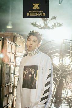 Remain - white version individual image teaser #Youjin #KNK