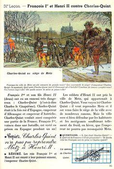 François Ier et Henri II contre Charles Quint