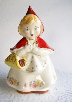 little red riding hood cookie jar
