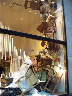 I love Anthropologie window displays