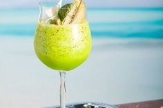 Жиросжигающий зеленый коктейль