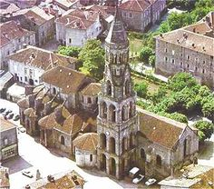 Eglise Romane de Saint Léonard de Noblat, Limousin