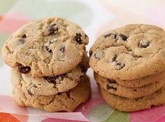 Cookies crocantes de chocolate - Veja mais em: http://www.cybercook.com.br/receita-de-cookies-crocantes-de-chocolate.html?codigo=95038