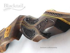 Hand-carved 'Legacy Series' bow. Get Recurve Bows at https://www.etsy.com/shop/ArcherySky
