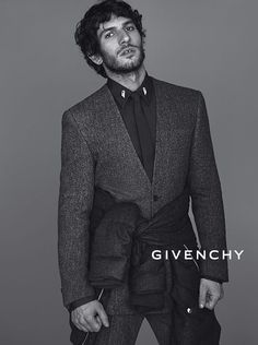 Quim Gutierrez by Mert for Givenchy Menswear Campaign SS2013.