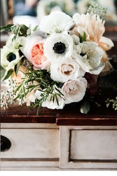 Sparkle & Hay Wedding Blog: Inspirations for a Rustic Chic Wedding: Sunday Bouquet: Romantic Rustic Chic Bridal Bouquet