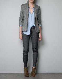 CHECKED BLAZER - Blazers - Woman - ZARA United States