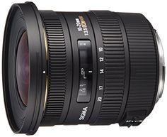 Sigma 1020mm f35 EX DC HSM ELD SLD Aspherical Super Wide Angle Lens for Canon Digital SLR Cameras * For more information, visit image link.
