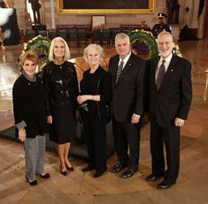 With my sisters and brother: Gigi, Anne, Ruth, and Ned.