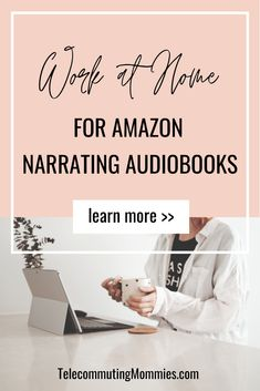 There are many different ways to make money from home with Amazon. Check out this new addition to our list- working from home for Amazon narrating their audiobooks. What a fun remote job! #onlinejobs #homebusiness #workfromhome Make Money Today, Make Easy Money, Ways To Earn Money, Earn Money From Home, Earn Money Online, Make Money Blogging, Legitimate Online Jobs, Best Online Jobs, Online Work