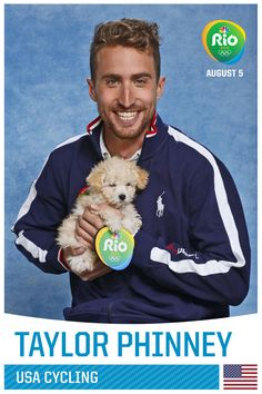 Taylor Phinneyhttp://www.cleartheshelters.com #Olympics #adoptDon'tshop