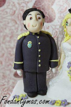 Novio Policía vestido de Gran Gala