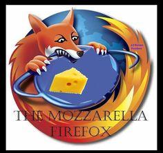 Mozzarella Firefox loves pizza!