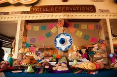 Mexican Wedding Decor from rusticweddingchic.com