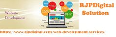 We provide an affordable web development services in a reasonable price for all Get your own website to grow online with RJP Digital Solution.