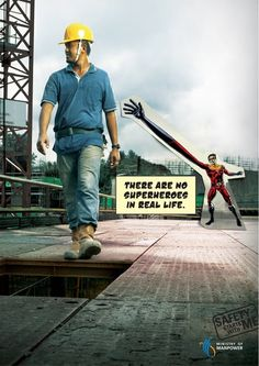 Work accidents campaign