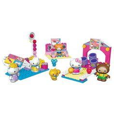 Mega Bloks Hello Kitty Fun at the Arcades (10974) - 132 pcs. Set  NIB #MegaBloks