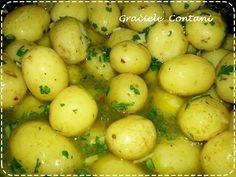 Batatinhas bolinhas em conserva (batatinha calabresa), de Graciele Contani - Espaço das delícias culinárias