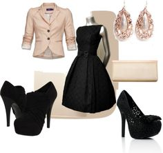 wedding guest in winter, created by lkuhn23 on Polyvore